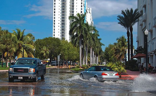 The Consequence of Global Warming: Coastal Flooding