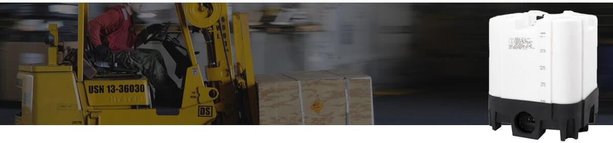 Forkliftable Pallet IBC Tanks