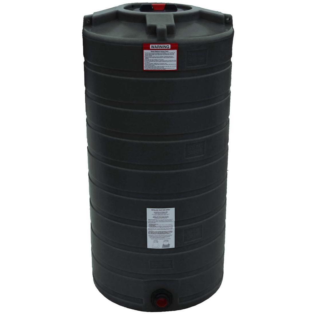 150 Gallon Vertical Water Storage Tank Enduraplas Tlv00150b