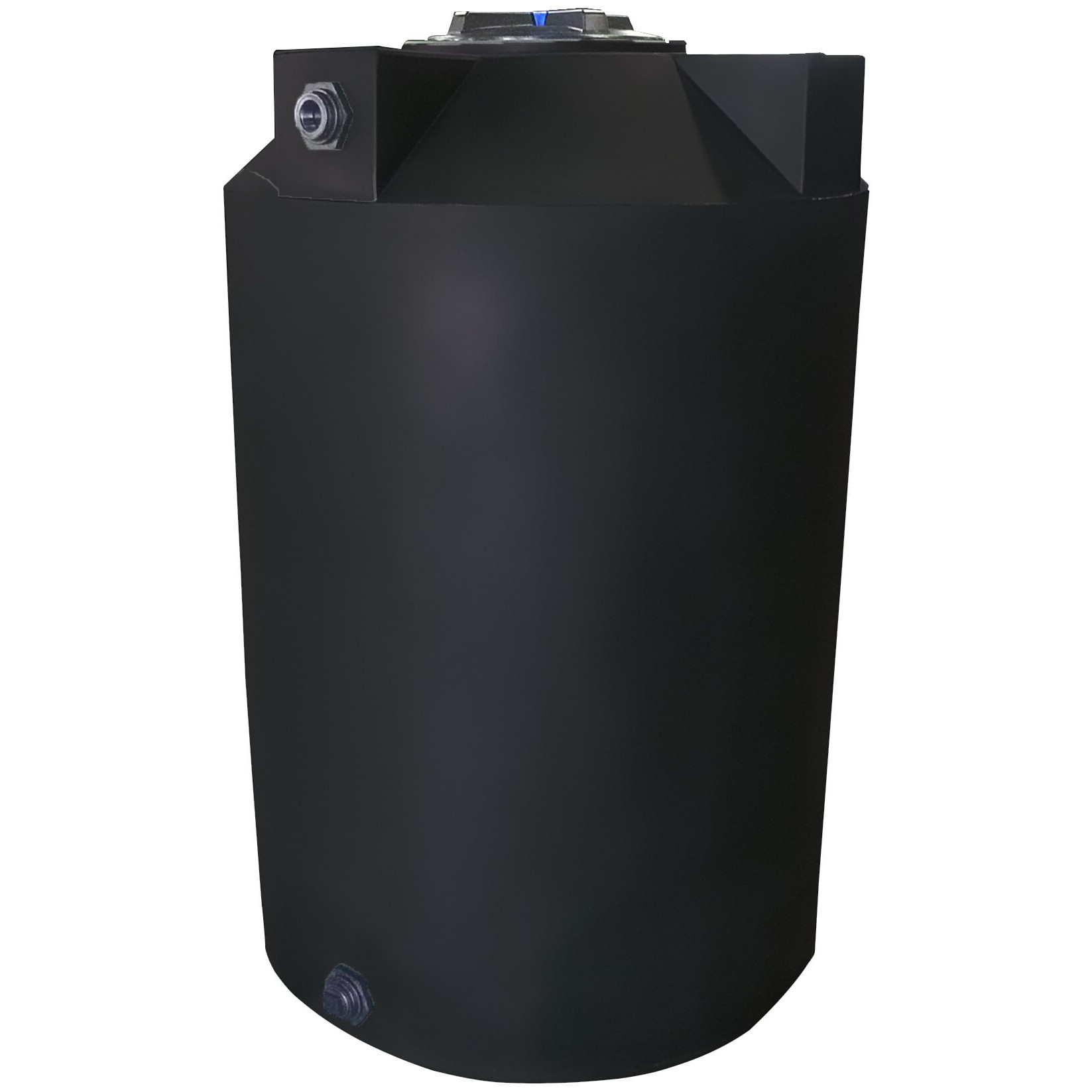 100 Gallon Black Vertical Water Storage Tank ...  sc 1 st  National Tank Outlet & 100 Gallon Water Storage Tank | Poly-Mart PM100B