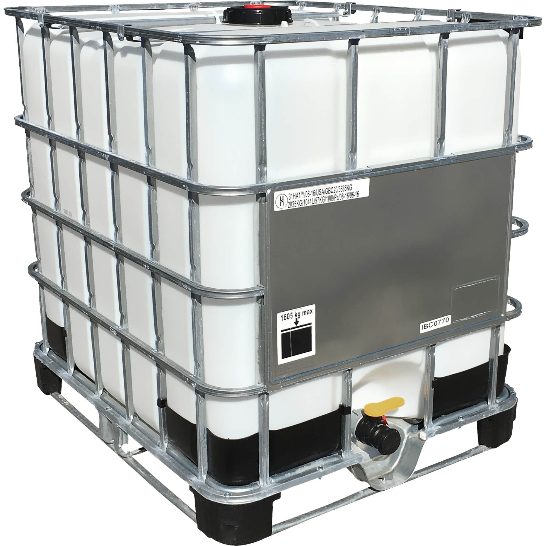 275 Gallon White Ibc Tote Portable Tank Nto T275