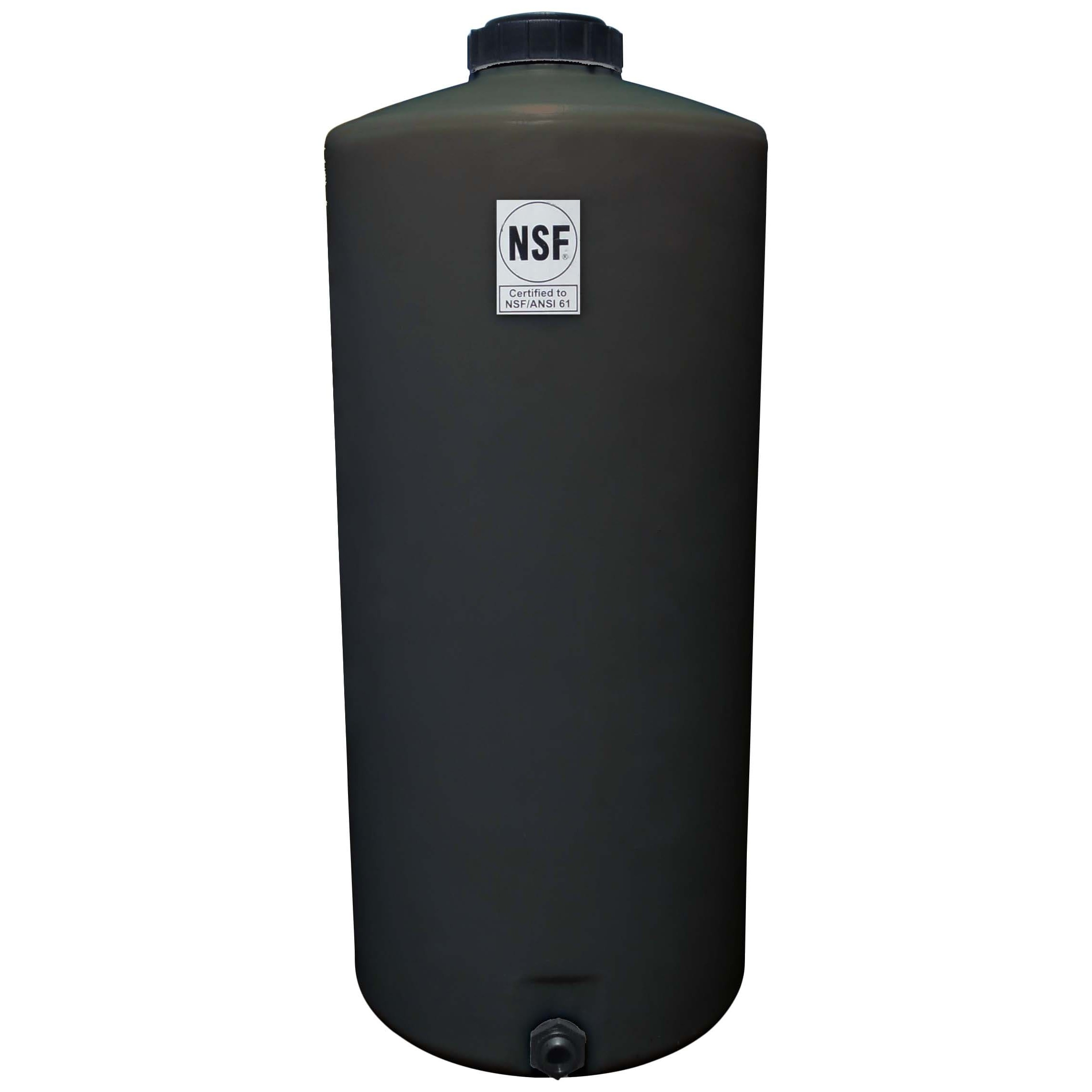 75 Gallon Black Vertical Water Storage Tank. Tap to expand  sc 1 st  National Tank Outlet & 75 Gallon Black Vertical Water Storage Tank | Ace VT0075-23B