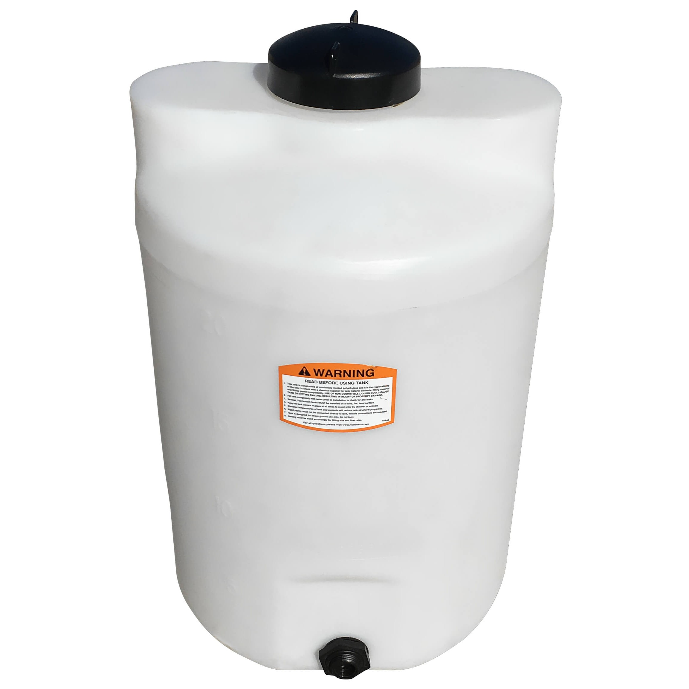 gallon white vertical storage tank norwesco  hover to zoom