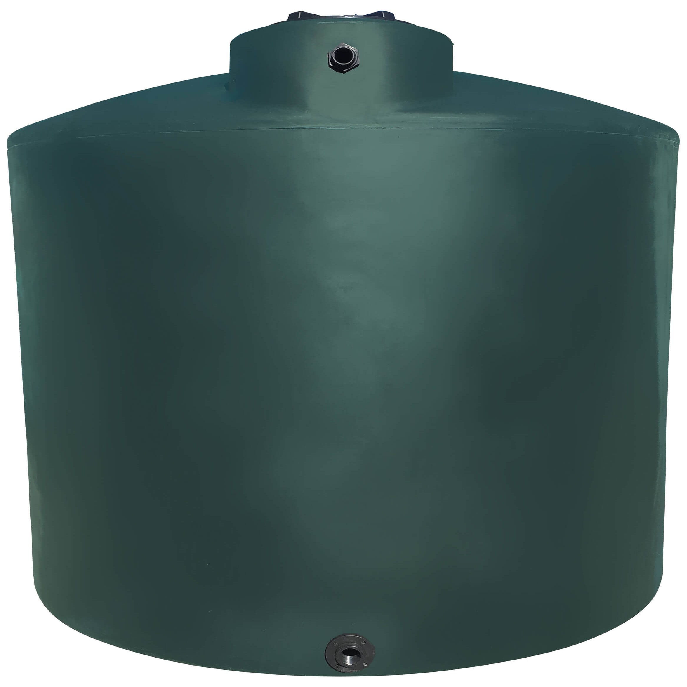 5000 Gallon Water Storage Tank Green Norwesco 42043