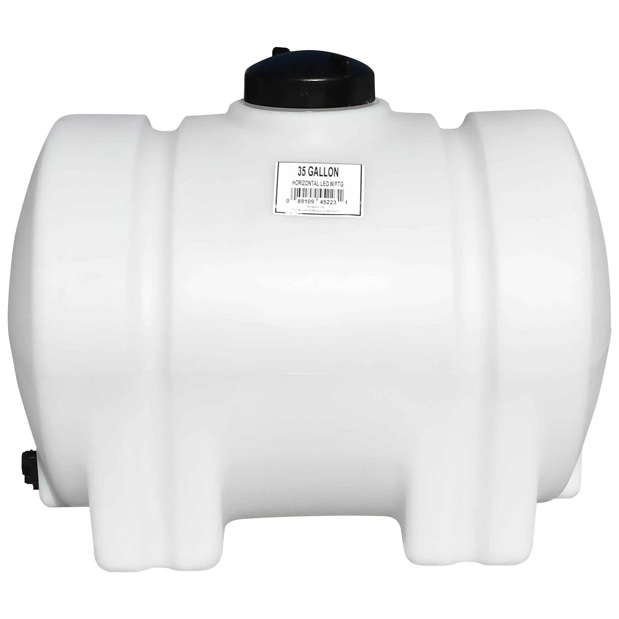 gallon white horizontal leg tank norwesco  35 gallon white horizontal leg tank 35 gallon white horizontal leg tank