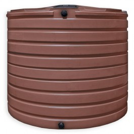2825 Gallon Brick Red Vertical Water Storage Tank