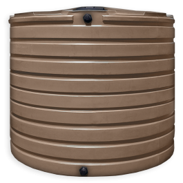 2825 Gallon Mocha Vertical Water Storage Tank
