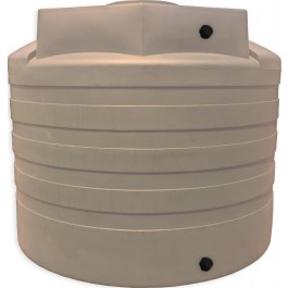 3100 Gallon Mocha Vertical Water Storage Tank