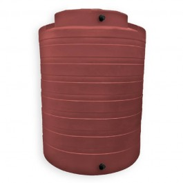 4050 Gallon Brick Red Rainwater Collection Storage Tank