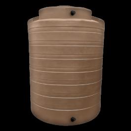 4050 Gallon Mocha Vertical Water Storage Tank
