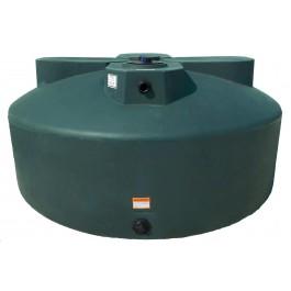 600 Gallon Dark Green Vertical Water Storage Tank