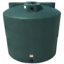 2550 Gallon Dark Green Vertical Water Storage Tank