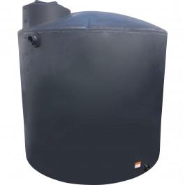2100 Gallon Black Vertical Water Storage Tank