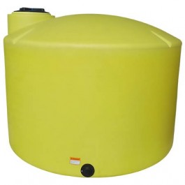 1550 Gallon Yellow Vertical Storage Tank