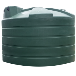 4995 Gallon Green Rainwater Collection Storage Tank