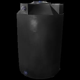 500 Gallon Black Heavy Duty Vertical Storage Tank