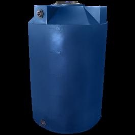 500 Gallon Dark Blue Vertical Water Storage Tank