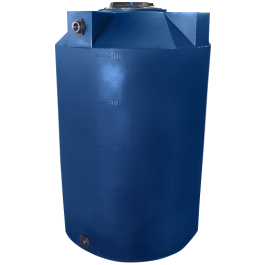 500 Gallon Dark Blue Heavy Duty Vertical Storage Tank