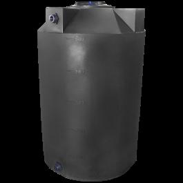 500 Gallon Dark Grey Heavy Duty Vertical Storage Tank