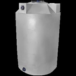500 Gallon Light Grey Vertical Storage Tank