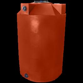 500 Gallon Red Brick Vertical Storage Tank