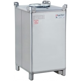 550 Gallon 304 Stainless Steel Supertainer IBC Tote Tank