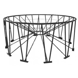6000 - 11500 Gallon Snyder 30° Cone Bottom Tank Stand