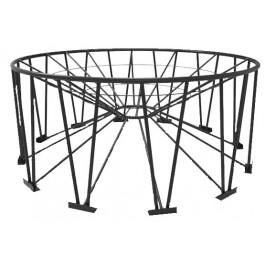 6000 - 11500 Gallon Snyder 30° Cone Bottom Tank Stand