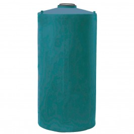 250 Gallon Dark Green Vertical Water Storage Tank