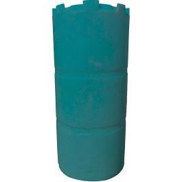 300 Gallon Dark Green Vertical Water Storage Tank