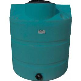 330 Gallon Dark Green Vertical Water Storage Tank