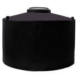 350 Gallon Black Vertical Water Storage Tank