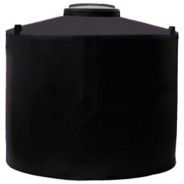 500 Gallon Black Vertical Water Storage Tank