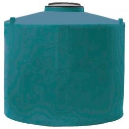 500 Gallon Dark Green Vertical Water Storage Tank