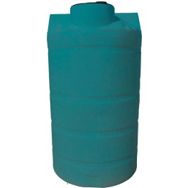 525 Gallon Dark Green Vertical Water Storage Tank