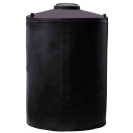 850 Gallon Black Vertical Water Storage Tank