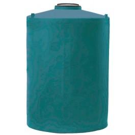 850 Gallon Dark Green Vertical Water Storage Tank
