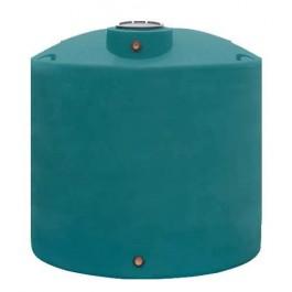 1200 Gallon Dark Green Vertical Water Storage Tank