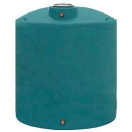 1700 Gallon Dark Green Vertical Water Storage Tank