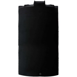 6000 Gallon Black Vertical Water Storage Tank