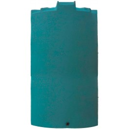 6000 Gallon Dark Green Vertical Water Storage Tank
