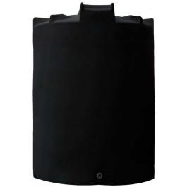 8000 Gallon Black Vertical Water Storage Tank