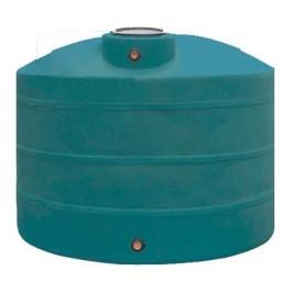 900 Gallon Dark Green Vertical Water Storage Tank