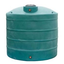 1100 Gallon Dark Green Vertical Water Storage Tank