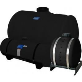 150 Gallon Black Applicator Tank