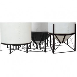 55 / 100 Gallon Ace Roto-Mold 15° Cone Bottom Tank Stand