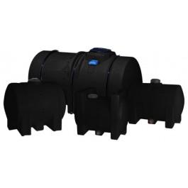 70 Gallon Black Horizontal Leg Tank