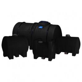 335 Gallon Black Horizontal Leg Tank