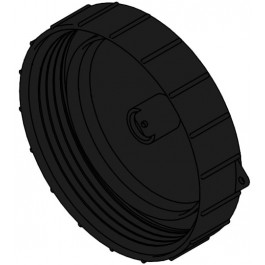"""7"""" Spin-On Vented Threaded Tank Lid w/ Step Vent"""