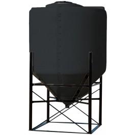 240 Gallon Black Cone Bottom Tank